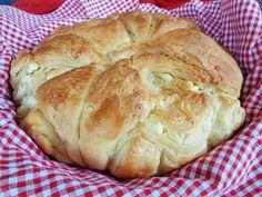 Kitchen Recipes, Cooking Recipes, Healthy Recipes, Greek Pastries, Pretzel Bun, Greek Recipes, Food To Make, Recipies, Rolls