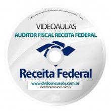 VIDEOAULAS AUDITOR FISCAL RECEITA FEDERAL 2014 8 DVDS