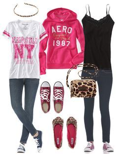 cool outfits for teen girls | Pinterest Cute Outfits for School