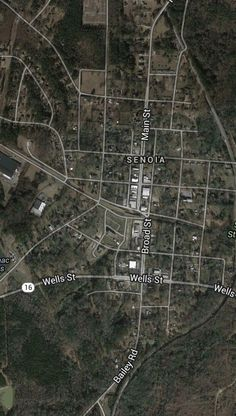 The Walking Dead filming locations in Senoia, Georgia. ~ click on the site and it has descriptions for all the locations!!!