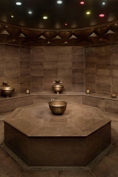 The spa is home to a modern take on a traditional hammam. #Jetsetter
