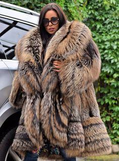 30f1ca177 339 Best BIG FOX FURS images in 2019 | Furs, Fur, Fur coats