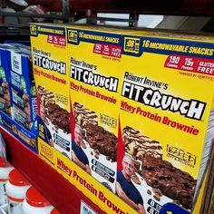Finally available at vegas Sam's Club!!! Love buying in bulk.  #fitcrunch #protein #teamfitcrunch #fitness #fit #instafit #fitfam #brownie #brownies #fitbrownie #proteinbrownies #fitcrunchbrownie #fitcrunchbrownies