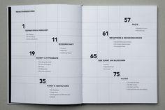 Punkt – book design by Luis Dilger, via Behance: