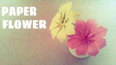 Hướng dẫn cách làm hoa bằng giấy trang trí nhà, phòng ngủ hay bàn học,... vô cùng đơn giản Bạn cần chuẩn bị 8 tờ giấy vuông kích thước tùy thích ♥ Video gần ...