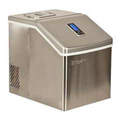 EdgeStar Portable Stainless Steel Clear Ice Maker Video Image