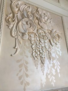 Одноклассники Pottery Sculpture, Wall Sculptures, Sculpture Art, Plaster Art, Plaster Walls, 3d Painting, Texture Painting, Wall Design, Wall Art Designs