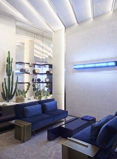 AD Intérieurs 2015, les décors : La salle à manger-salon d'Isabelle Stanislas © Claire Israël