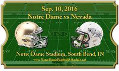 Notre Dame Fighting Irish Vs. Nevada Wolf Pack Tickets