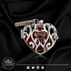 Jaula - Corazón Imperial Plata - HB roja de TALIIISMAN COMPANY®  ¡Contáctanos! 01800 2867967 www.facebook.com/Taliiisman info@taliiisman.com
