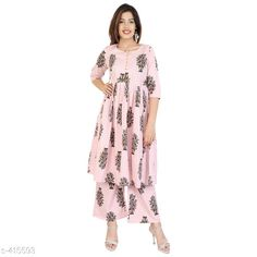 Kurta Sets Fancy Women Kurta Sets Fabric: Cotton Sleeves: Sleeves Are Included  Size: Kurti - M - 38 in Palazzo - 30 in/ Kurti - L - 40 in Palazzo - 32 in/ Kurti - XL - 42 in Palazzo - 34 in/ Kurti - M - 44 in Palazzo - 36 in Length: Kurtis - Up To 46 in              Palazzo - Up To 39 in Type: Stitched Description: It Has 1 Piece Of Kurti And 1 piece Of Palazzo Work/Pattern: Printed Country of Origin: India Sizes Available: XXS, XS, S, M, L, XL, XXL, XXXL, 4XL, 5XL, 6XL, 7XL, 8XL, 9XL, 10XL, Free Size   Catalog Rating: ★4 (415)  Catalog Name: Womens Elegant Dailywear Kurtis Vol 2 CatalogID_44973 C74-SC1003 Code: 714-415593-3201