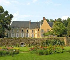 This is my second home, Chateau de la Barre in Conflans Sur Anille, France at Hotels of the Rich and Famous