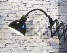Enamelled scissor lamp Desk Lamp, Table Lamp, Wall Lights, Enamel, Lighting, Home Decor, Isomalt, Homemade Home Decor, Appliques
