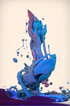 High Speed Photography of Paint by Alberto Seveso