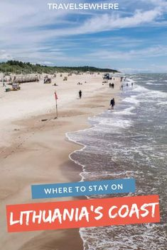 You can't say you've seen Lithuania without seeing its Baltic Sea coast. With places like Palanga and Nida, here's where to stay on Lithuania's coast. Lithuania Hetalia, Lithuania Travel, Poland Travel, Lithuania Flag, Kaunas Lithuania, Italy Travel, Travel Advice, Travel Guides, Travel Tips