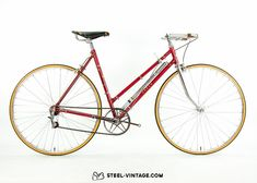 Steel Vintage Bikes - Bauer Ladies Roadbike 1950s