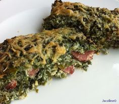 Boerenkoolstampot of Boerenkoolquiche? Low Carb Recipes, Real Food Recipes, Yummy Food, Healthy Recipes, Vegetable Pie, Vegetable Recipes, Sugar Free Diet, Savarin, Breakfast Lunch Dinner
