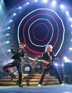 Adam Lambert Pictures - QUEEN And Adam Lambert Tour - Sydney - Zimbio