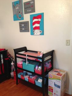 Dr Seuss Nursery. I like the colors. It doesn't look too flamboyant.