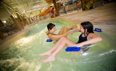 Indoor water park @ Great Wolf Lodge in Grapevine, TX. I want to take the kids here around Christmas time.