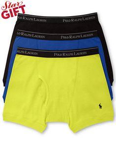 Polo Ralph Lauren Men's Boxer Briefs 3+1 Pack