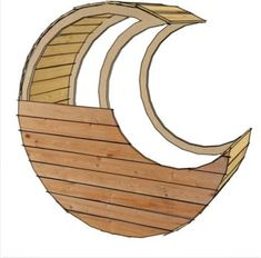 pallet moon cradle plans and directions