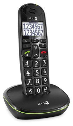 Doro Phone Easy 110 téléphone fixe sans-fil Noir 27afc61e792d