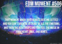 EDM Moment