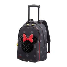8dab6d48bf Backpack with wheels Minnie Iconic Samsonite Disney Ultimate Backpack With  Wheels, Kids Bags, Travel
