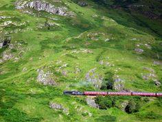 The Jacobite, Scotland