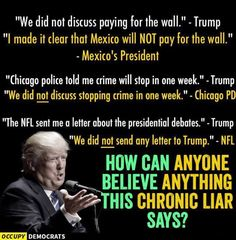 Chronic Liar among so many other Ugly, Horrible things.