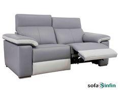 Sofá relax de 3 y 2 plazas modelo Idoia fabricado por Losbu en Sofassinfin.es