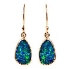 Jamie Joseph Australian Opal Wing Earrings | Greenwich Jewelers