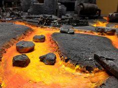 lava terrain wargaming - Google Search