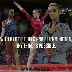 Gymnastics Determination.