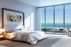 [ Auberge Beach Residences Amp Spa Bedroom With Oceanview Panoramic View Interior Design Ideas ] - Best Free Home Design Idea & Inspiration