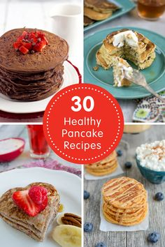30 Healthy Pancake Recipes