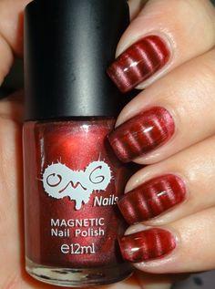 Wendy's Delights: MoYou Nails Bordeaux Magnetic Nail Polish @MoYou Nails