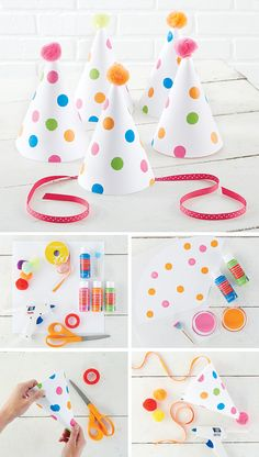 DIY Party Hats | Michaels Blog