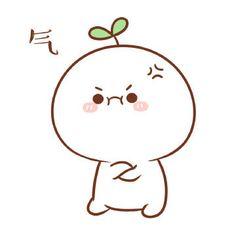 Giận òi :((( Cute Bear Drawings, Cute Cartoon Drawings, Cute Kawaii Drawings, Kawaii Cute, Easy Drawings, Chibi Cat, Cute Chibi, Cat Icon, Dibujos Cute