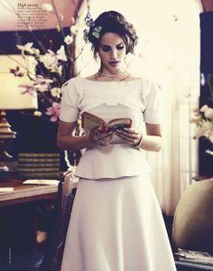 """""""A Star is Torn"""" : Lana Del Rey : Vogue Australia October 2012 : Nicole Bentley"""