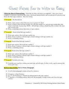 essay writing style guide