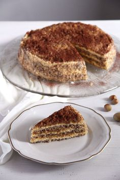 Egyptian Hazelnut Cake
