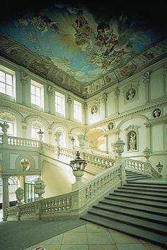 Austria, Göttweig Abbey (Stift Göttweig), Baroque: Emperor's Staircase