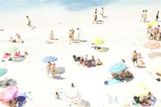 beach Stretched Canvas
