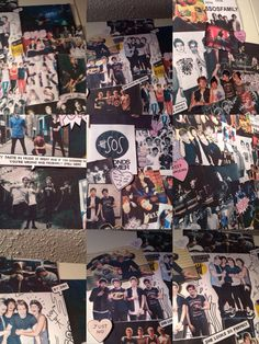 Close up collage of my 5sos collage