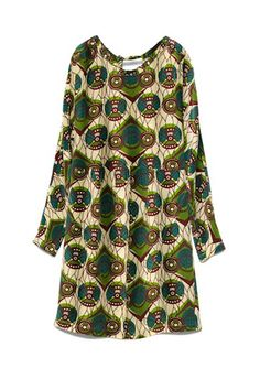silk dress from The Marni for H&M Collection!