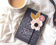 FALL SALE Teacher Gift Bookmark Reader Gift Book by LoveMaude