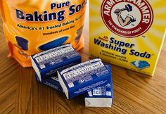 DIY Laundry Soap Homemade Laundry Detergent Baking Soda Washing Soda Pure Castile Soap