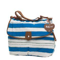 aaa08e527901 Satchel Diaper Bag - Boathouse Blue by Babymel